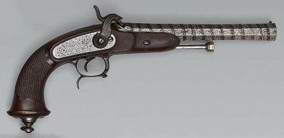 Pistolet d'officier à percussion modèle 1833,...