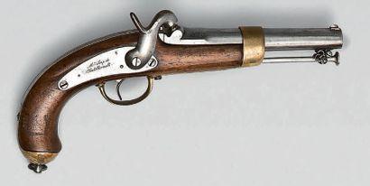 Pistolet à percussion de marine modèle 1849,...
