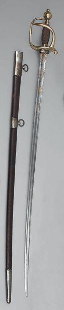 Sabre d'officier de cavalerie modèle 1750,...