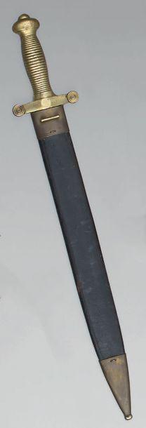 Glaive d'infanterie modèle 1831, garde en...
