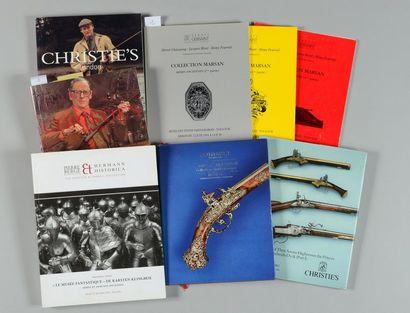 Huit catalogues de ventes: Christie's Londres, collection W. Keith Neal, deux catalogues,...