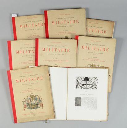 Général Thoumas: ouvrage concernant l'exposition rétrospective militaire du ministère...