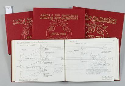 Jean Boudriot - P. Lorain - R. Marquiset: Armes à feu françaises, modèles réglementaires...