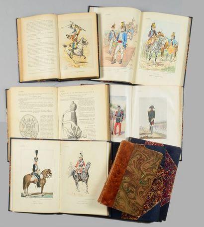 L.Fallou: La Giberne, lot de 7 volumes,...