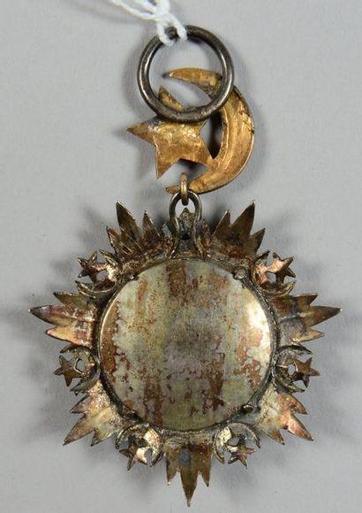 Croix de chevalier de l'ordre du Medjidie en argent et or, émaillée; largeur 49mm....