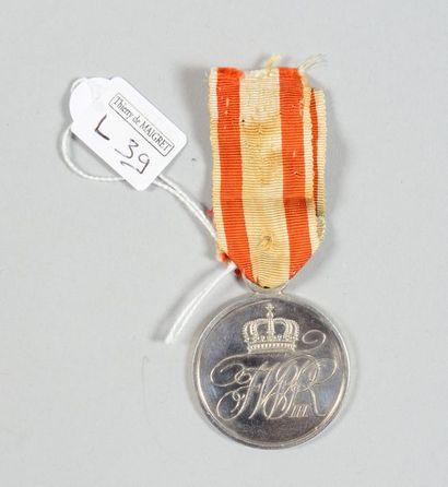 Médaille du Mérite militaire en argent (1806/1809/1814);...