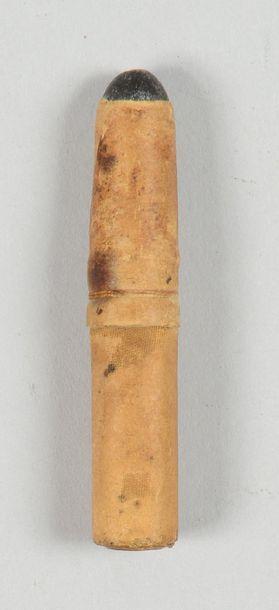 Cartouche de fusil Chassepot modèle 1866,...