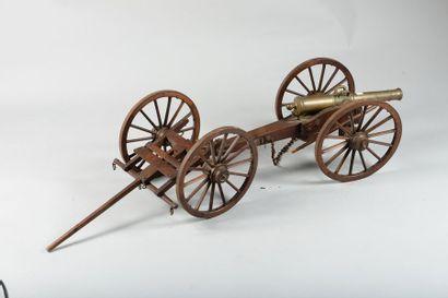 Maquette de canon de campagne de type Valée...