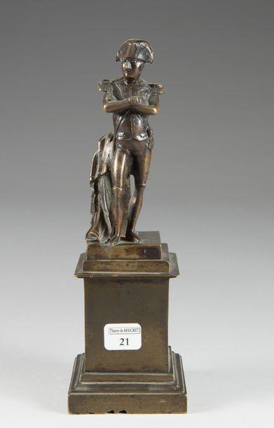 Statuette représentant l'Empereur Napoléon...
