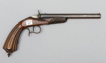 Pistolet de tir de salon système Flobert,...