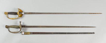Une épée d'officier d'état-major modèle 1817...