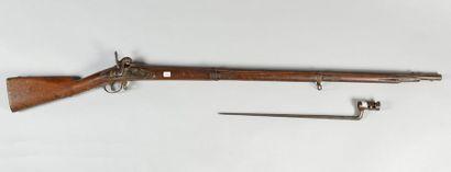 Fusil d'infanterie à percussion modèle 1822Tbis,...