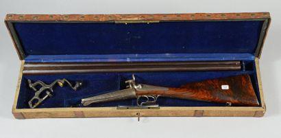 Fusil de chasse à broche système Lefaucheux,...