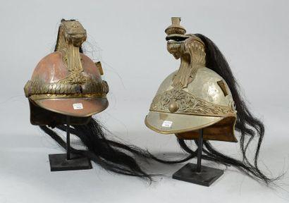 Casque de dragon modèle 1874; assez bon...