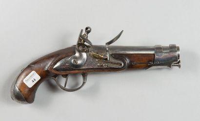 Pistolet de gendarmerie, modèle An IX, canon...