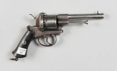 Revolver système Lefaucheux, cal. 9 mm, barillet...