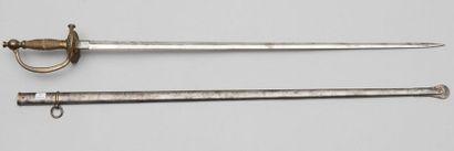 Épée de Bas-officier d'infanterie, modèle...