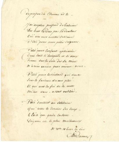 Alexandre DUMAS père. (1802-1870)