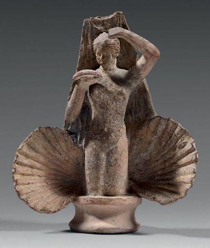 Statuette représentant la naissance de Vénus....