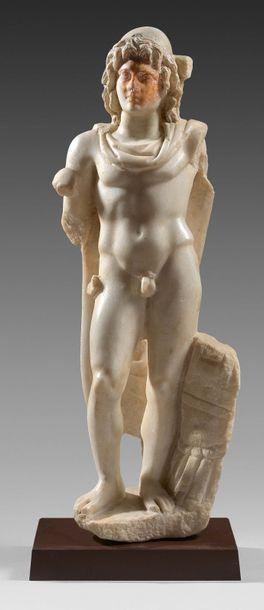 Statue d'un des Dioscures aux traits d'Alexandre...