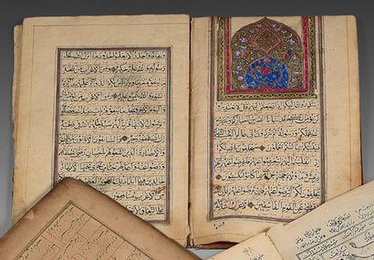 11th Juz of a Bilingual Qur'an, Iran qâjâr, 19th century Incomplete manuscript on...