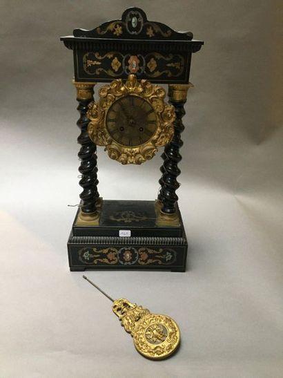 Pendule portique  Fin du XIXème siècle  ref...
