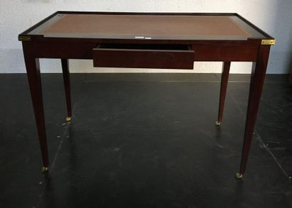 Bureau plat  Style Directoir  H : 75 cm...