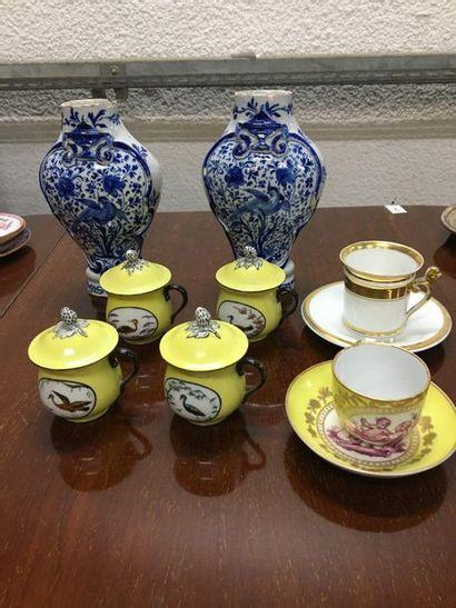 Lot de porcelaine vendu en l'état
