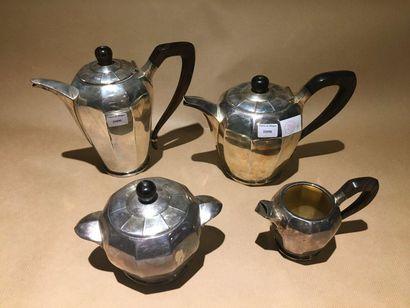 Partie de service à thé en argent par Tiffany...