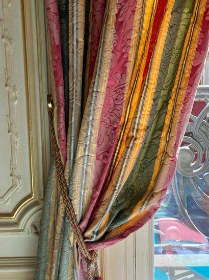Lot : 11 paires de rideaux  LOT AU GARDE...