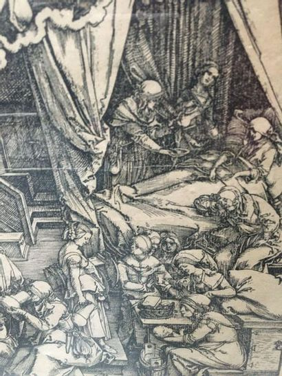 D'APRÈS ALBRECHT DÜRER 4 gravures d'après Albrecht Durer Vendu en l'état