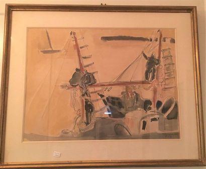 Attribué à Edouard Pignon (1905-1993)