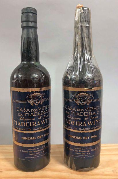 2 bouteilles MADEIRA