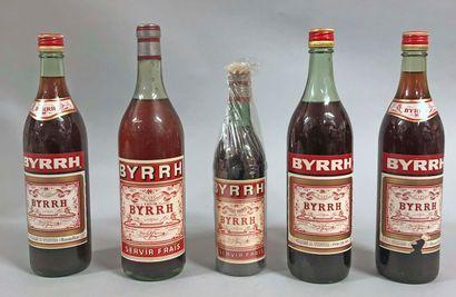 4,5 bouteilles BYRRH