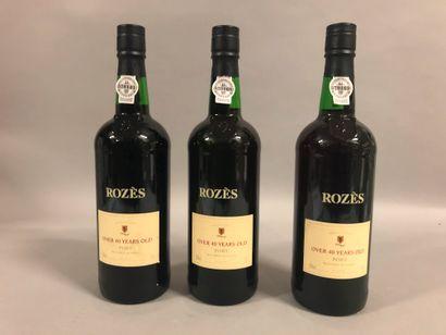 3 bouteilles PORTO