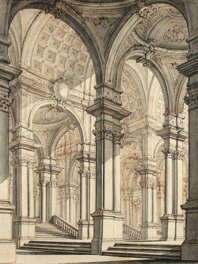 Carlo GALLI BIBIENA (Vienne 1728 - Florence 1787)