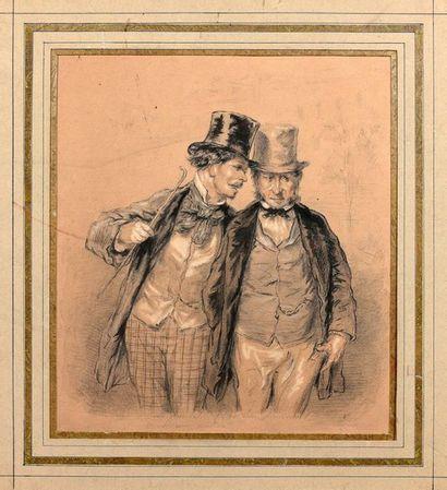 Paul GAVARNI (Paris 1804 - Neuilly 1866)