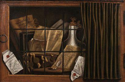 MAÎTRE P. S. (actif aux Pays-Bas du Sud vers 1660)
