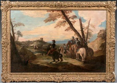 Jacques Ignace PARROCEL (Avignon 1667 - Mons 1722)