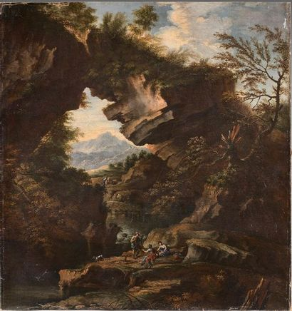 Attribué à Carlo Antonio TAVELLA (1668-1738)