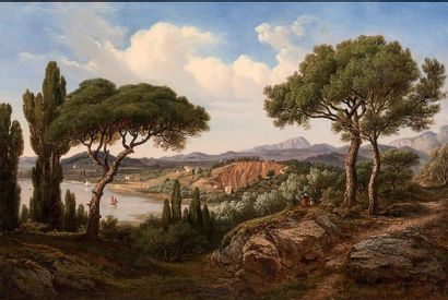 Edouard Jean-Marie HOSTEIN (Pléhédel, 1804 - Paris, 1889)