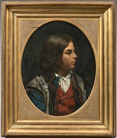 Attribué à Jacques Louis Jules DAVID (1829-1886)