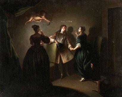 Attribué à Jean Alexis GRIMOU (1678-1733)