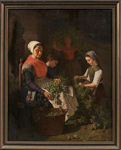 Pierre Joseph TOUSSAINT (Bruxelles 1822-1888)