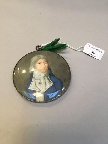 Alexandre-Paul-Joseph VERON BELLECOURT (1773- 1838), attribué à