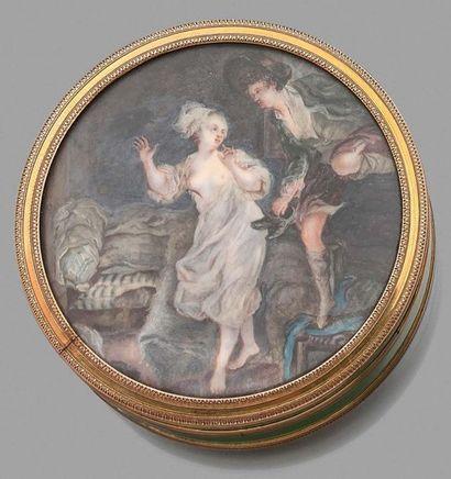 Pierre Antoine BAUDOIN (1723-1769), attribué à