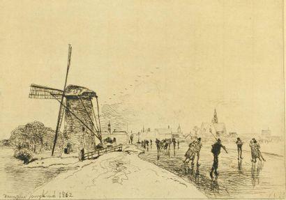JOHAN - BARTHOLD JONGKIND (1819-1891)
