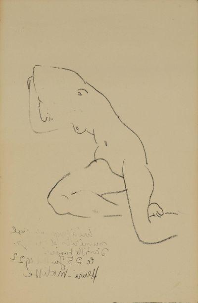 Henri MATISSE (1869-1954)d'après