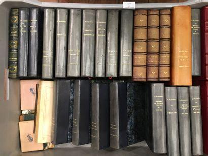 1 caisse de livres reliés dont FLAUBERT,...