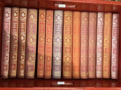 1 caisse de livres reliés modernes Encyclopédie...